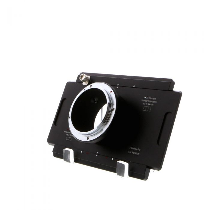 ZZ** dupe FotodioX Pro Hasselblad X Mount Body to Large Format 4 x 5