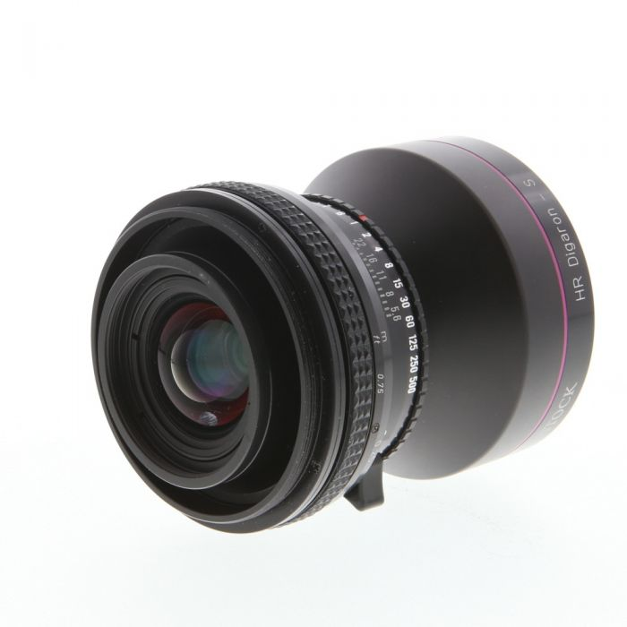Rodenstock 23mm f/5.6 HR Digaron-S Lens, Copal BT, in Helical Focus Mount (No Board) {65 Mount}