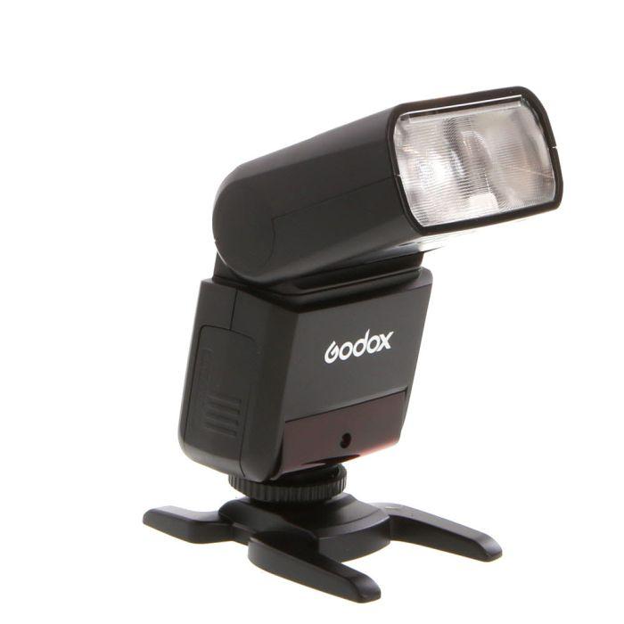 Godox TT350f Mini Thinklite TTL Flash for Fujifilm Cameras [GN118] (Bounce, Swivel, Zoom)
