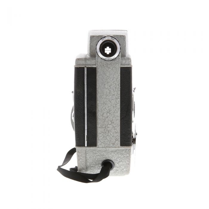 Revere Eye-Matic CA-4 Turret With 9, 13, 32.5 F/1.8 Cine Raptar (8mm) Movie Camera