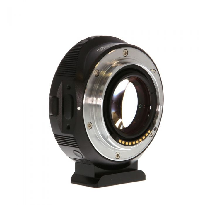 Metabones T II ULTRA Speed Booster T 0.71x Adapter for Canon EF-Mount Lens to Sony E-Mount (MB_SPEF-E-BT4) with Tripod Foot