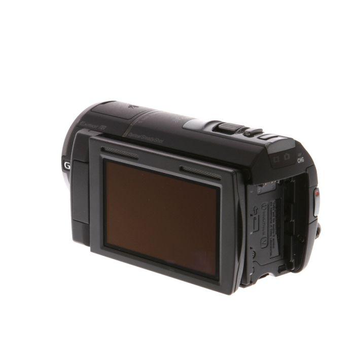 Sony HDR-CX580V Handycam HD Digital Video Camera, Black {20.4 M/P}