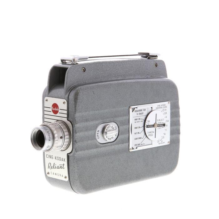 Kodak Cine Reliant Movie Camera With 13mm F/2.7 Ektanon (8mm)