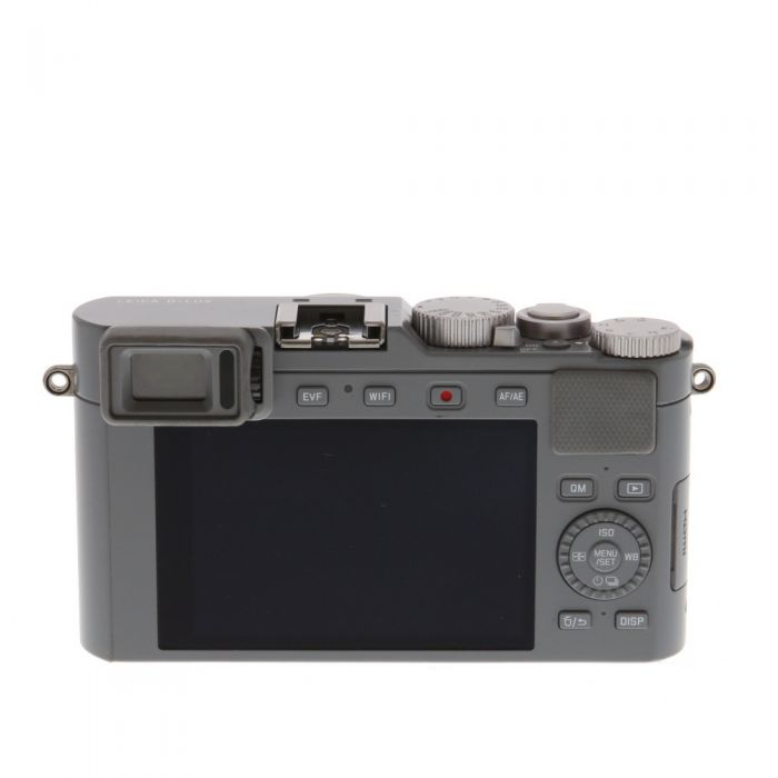 Leica D-Lux TYP 109 Solid Gray Digital Camera {12.8 M/P} With CF D Flash