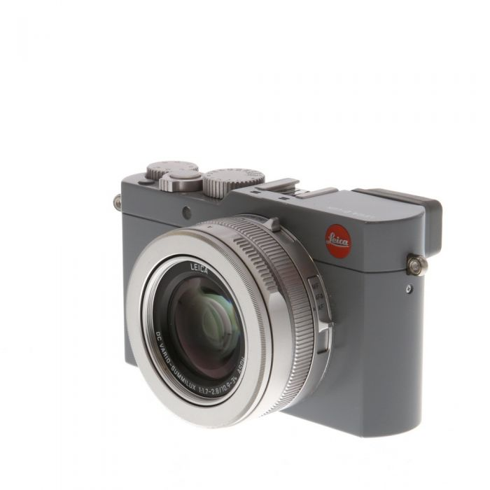 Leica D-Lux (Typ 109) Solid Gray Digital Camera {12.8MP} 18476 with CF D Flash