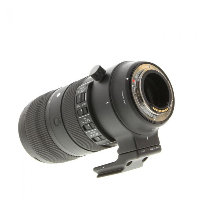 Sigma 70-200mm F/2.8 APO EX DG HSM OS S (Sports) Lens For Canon EF Mount {82} With Tripod Mount