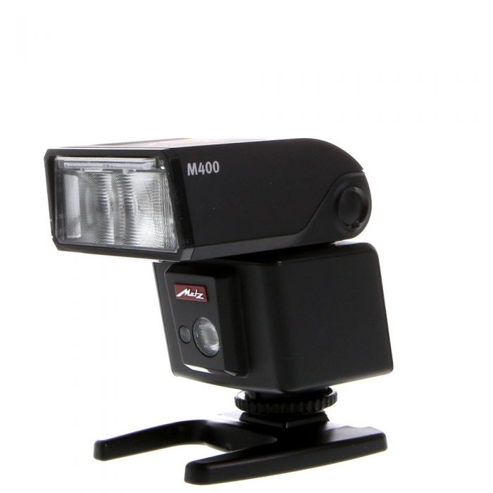 Metz M400 E-TTL, E-TTL II Flash For Canon [GN131] {Bounce, Swivel, Zoom}