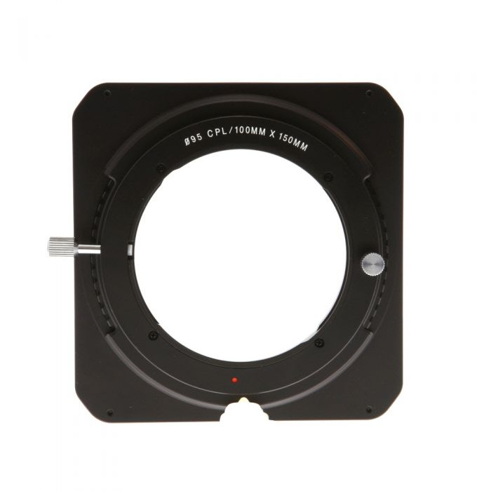 Venus Optics Laowa 100mm Filter Holder for Laowa 12mm F/2.8 Zeor-D Lens with 2-Slots, Adapter for 95mm CPL Filter