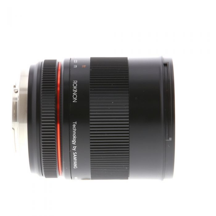 Rokinon 85mm f/1.8 UMC CS Manual Lens for MFT Micro Four Thirds, Black {62}