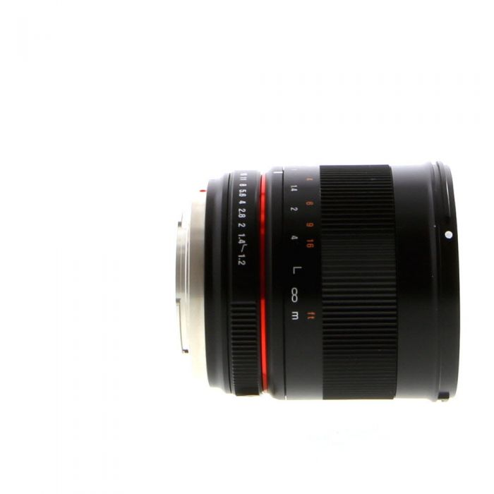 Rokinon 50mm f/1.2 UMC CS Manual Lens for MFT Micro Four Thirds MFT, Black {62}