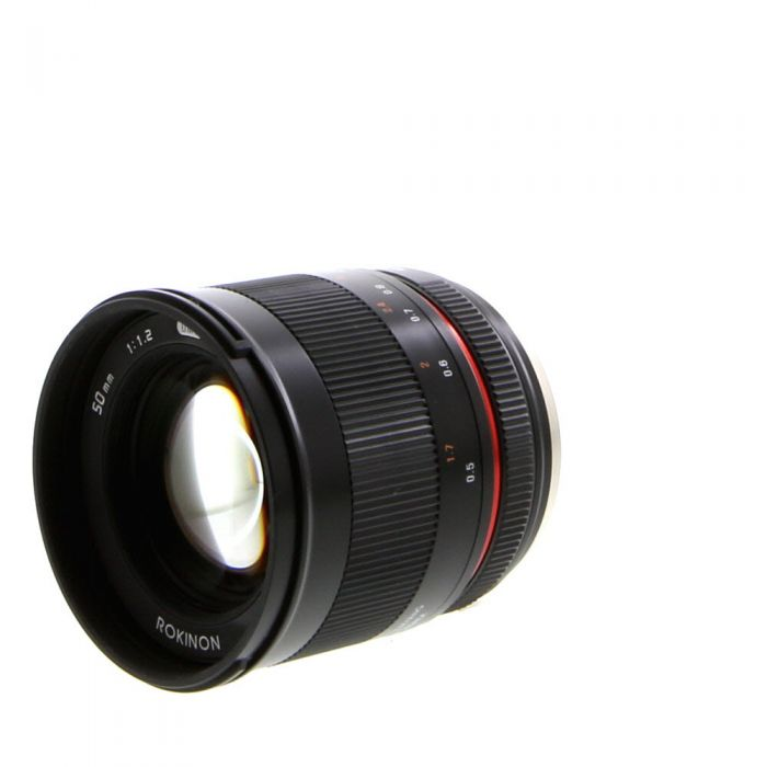 Rokinon 50mm F/1.2 UMC CS Manual Focus, Manual Aperture Lens for Micro Four Thirds System, Black {62}
