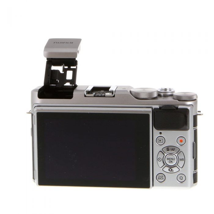 Fujifilm X-A5 Mirrorless Digital Camera Body, Silver/Brown Leather {24.2MP}