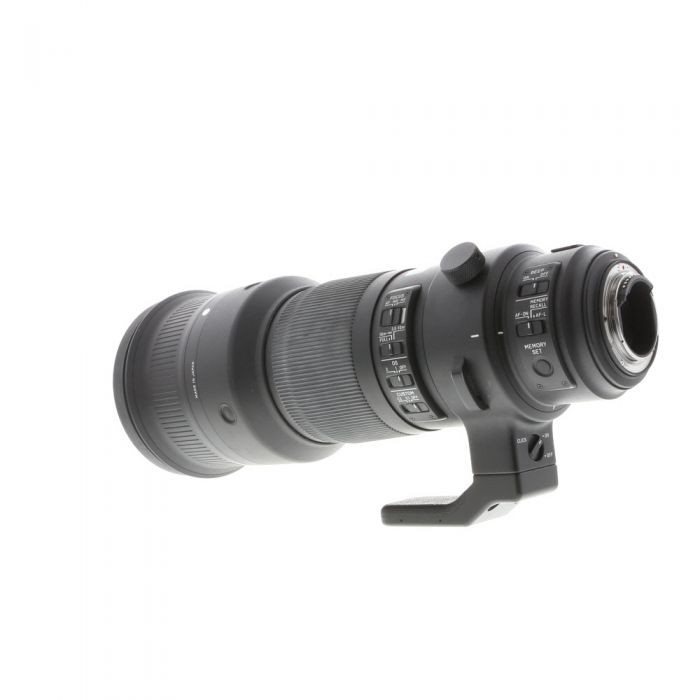 Sigma 500mm f/4 DG OS HSM S (Sports) Lens for Nikon {46 Drop-In}