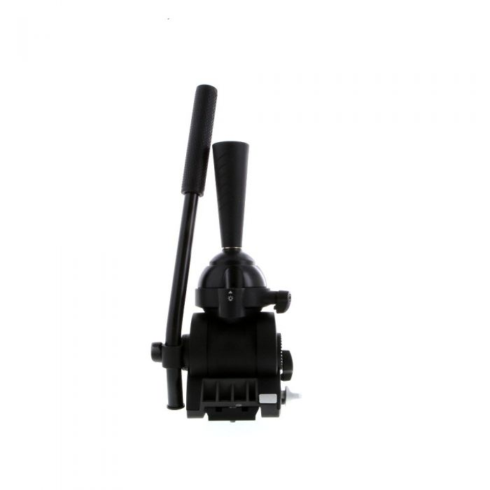 Libec ALX H Dual-Base Fluid Tripod Head with Single Pan Handle and Mount Fixing Handle