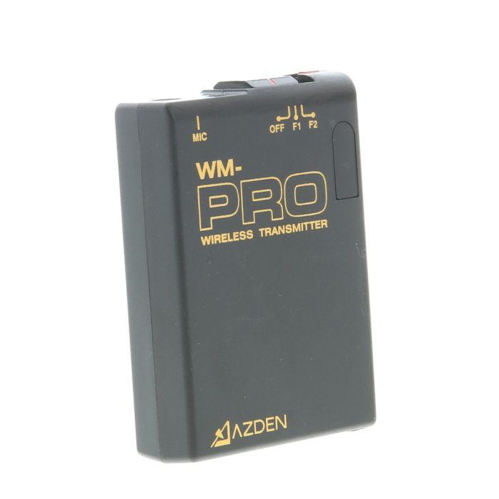 Azden WM-PRO Wireless Transmitter with EX-503 Lavalier Microphone