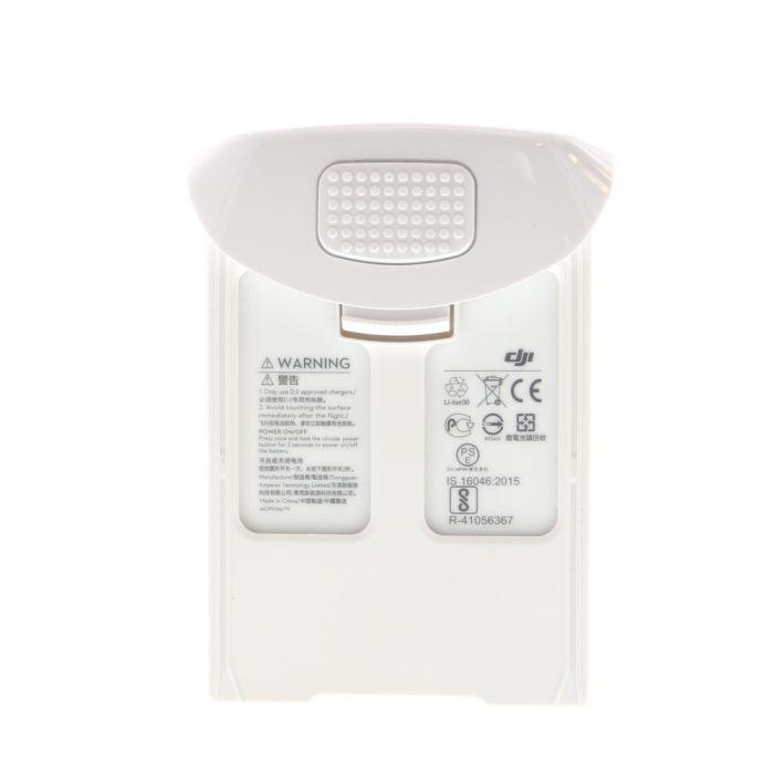 DJI Intelligent Flight Battery for Standard Edition Phantom 4 Pro/Pr+, White Drone (PH4/5870mAh-15.2V)
