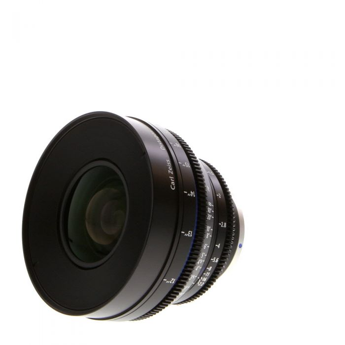 Zeiss 35mm T1.5 Compact Prime CP.2 Super Speed Planar T* Manual Focus Manual Aperture Lens In Feet For Canon EF Mount