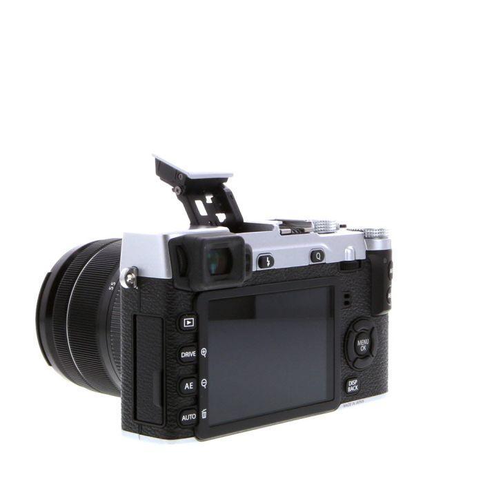 Fujifilm X-E2S Mirrorless Digital Camera, Silver {16MP} with 18-55mm f/2.8-4 XF R LM OIS Lens {58}
