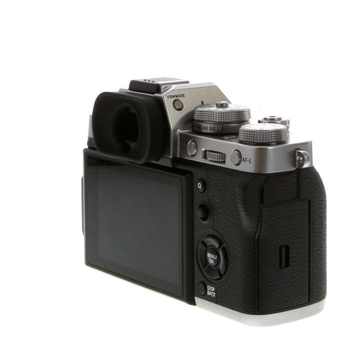 Fujifilm X-T3 Mirrorless Digital Camera Body, Silver {26.1MP} Without EF-X8 Flash