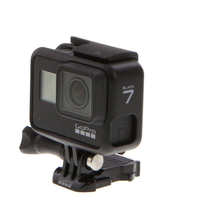 GoPro Hero 7 Black (Waterproof to 33') UHD 4K Digital Action Camera {12 M/P}