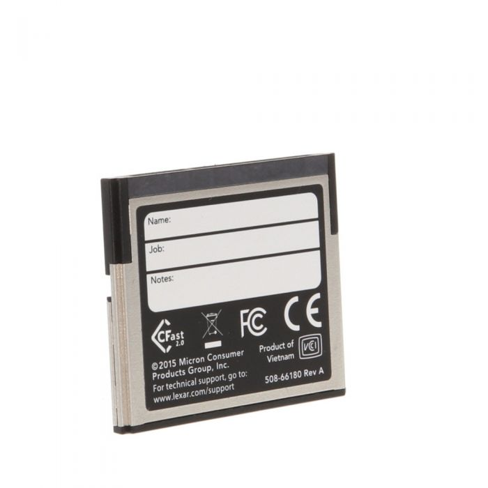 Lexar 128GB 525 MB/Second 3500X Professional CFast 2.0 (For Cameras Based On CFast 2.0 Technology)