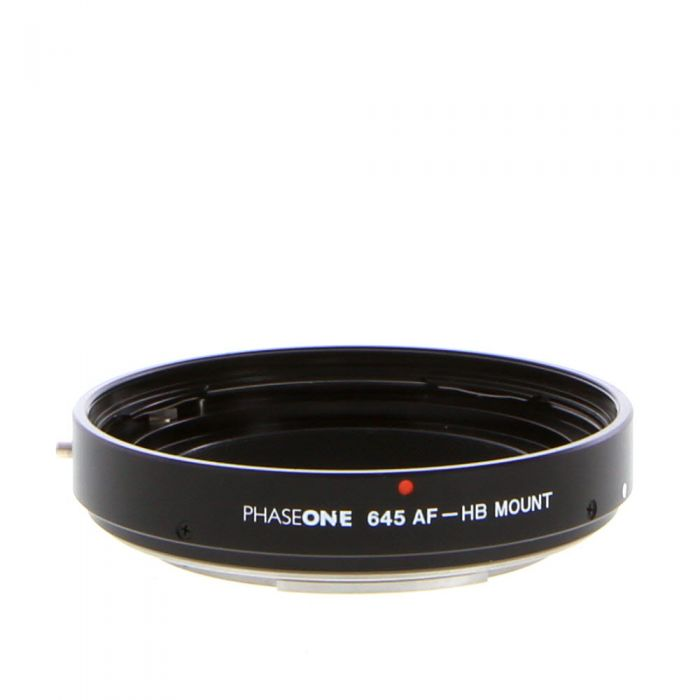 Phase One Adapter For Hasselblad Manual Lenses to 645 (645 AF-HB) Black