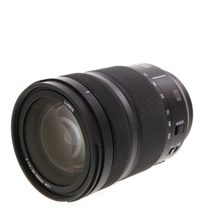 Panasonic Lumix S 24-105mm f/4 Macro O.I.S. L-Mount Full-Frame Lens for S Series Camera {77}