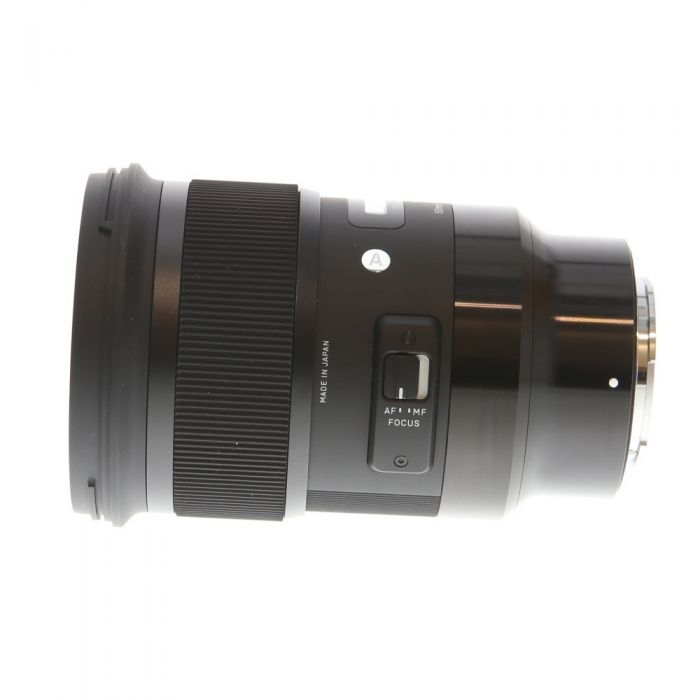 Sigma 50mm f/1.4 DG HSM A (Art) AF Lens for Sony E-Mount, Black {77}
