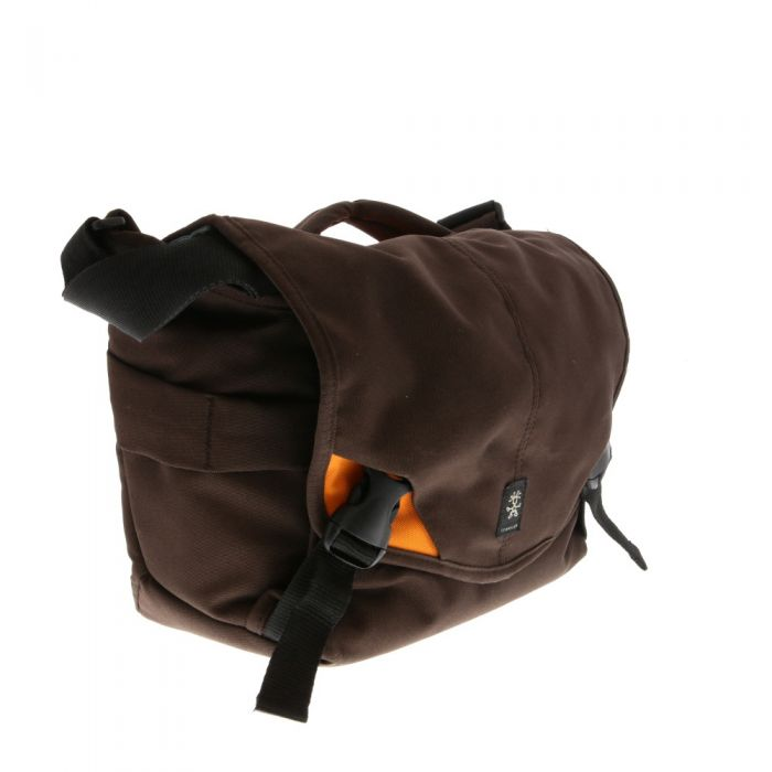 Crumpler 6 Million Dollar Home Camera Bag, Brown/Orange, 11.4x9.8x7.7 in.