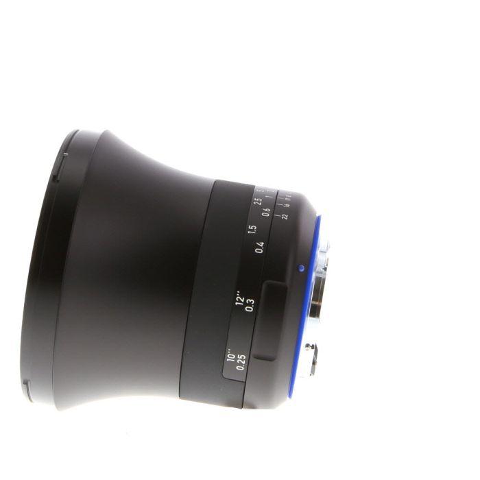 Zeiss Milvus 15mm f/2.8 Distagon ZE T* Manual Focus Lens for Canon EF-Mount {95}