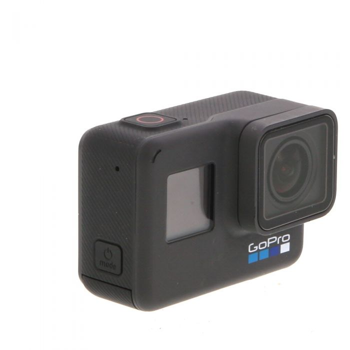 GoPro Hero 6 Black Edition, (Waterproof to 33') 4K Digital Action Camera Without Frame And Quick Release Buckle