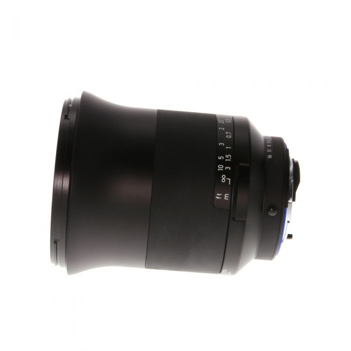 Zeiss Milvus 25mm f/1.4 Distagon ZF.2 T* (With CPU Contacts) Manual Focus Lens for Nikon F-Mount {82} with De-Click Tool