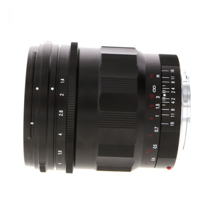 Voigtlander 21mm f/1.4 Nokton Aspherical Manual Lens for Sony E-Mount, Black {62}