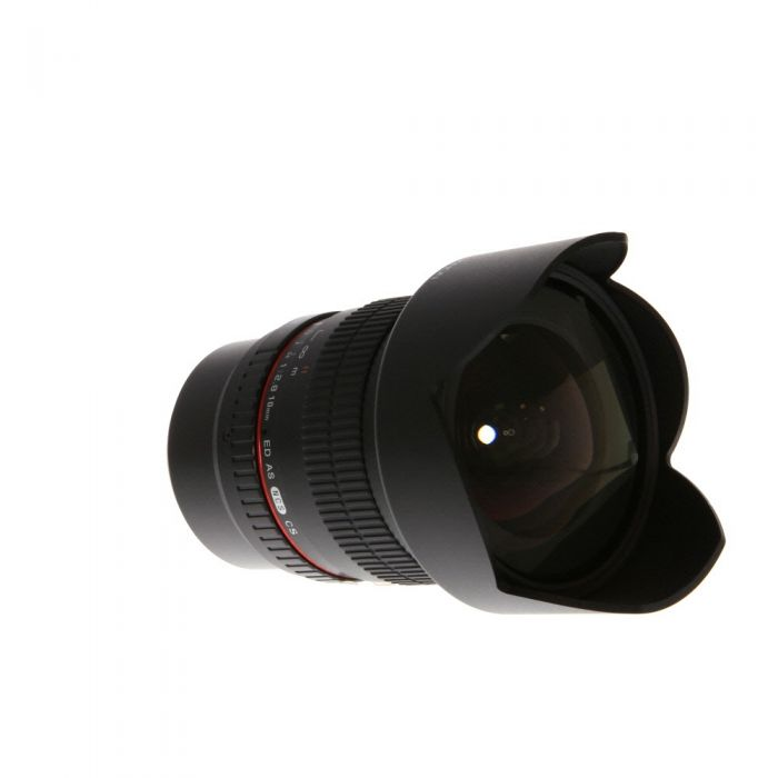 Rokinon 10mm F/2.8 ED AS NCS CS Manual Focus, Manual Aperture Lens for Fujifilm X Mount Mirrorless