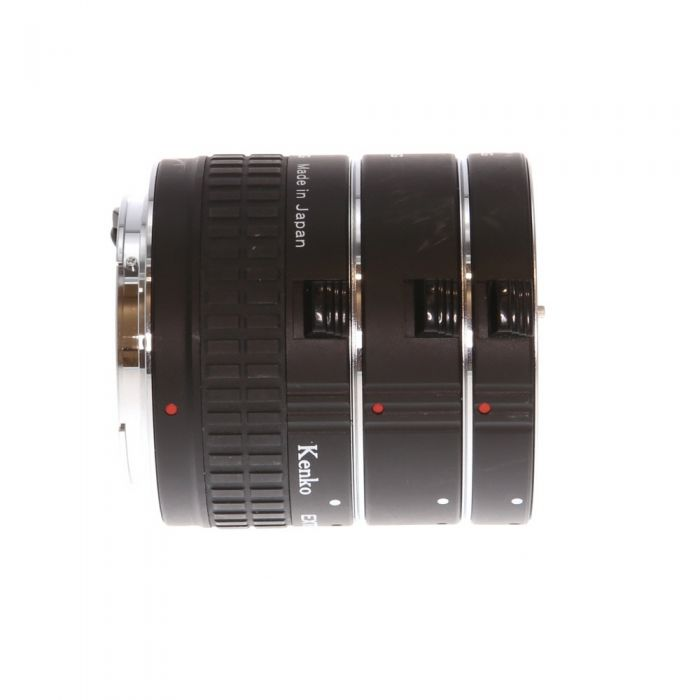 Kenko Extension Tube Set 12,20,36 DG, for Canon EOS EF and EF-S Mount