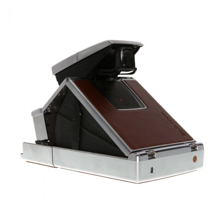 MiNT SLR670-S (SX-70 Type) Auto/Manual Instant Film Camera, Brown, with MiNT Time Machine