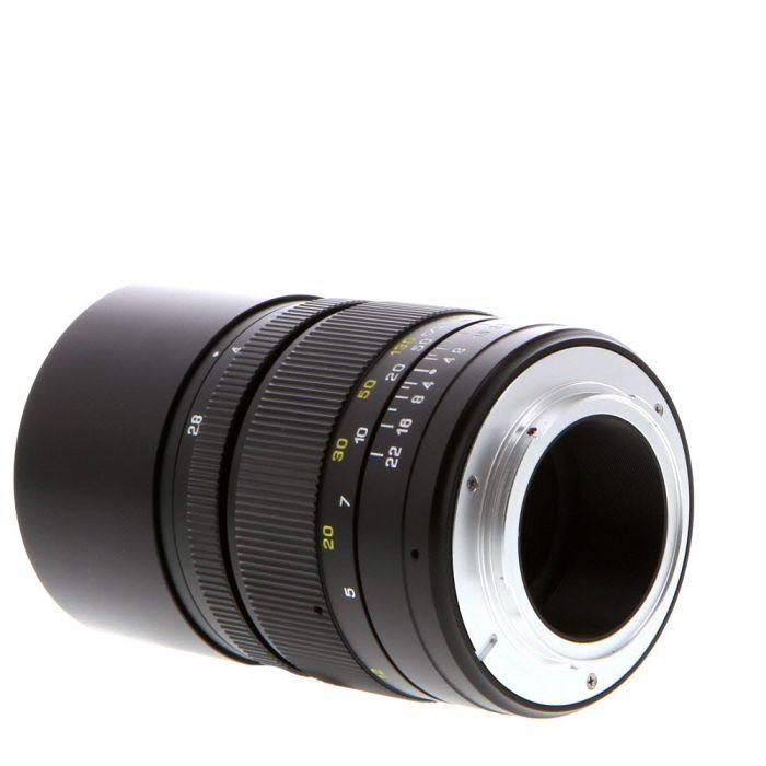 Mitakon Zhongi Creator 135mm f/2.8 Mark II Manual Focus, Manual Aperture Lens with Built in Hood for Nikon F Mount {58}