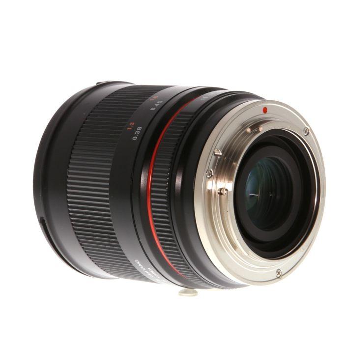 Rokinon 35mm f/1.2 ED AS USM CS M (Manual Focus, Manual Aperture) Lens for Canon Mirrorless EF-M Mount, Black {62}