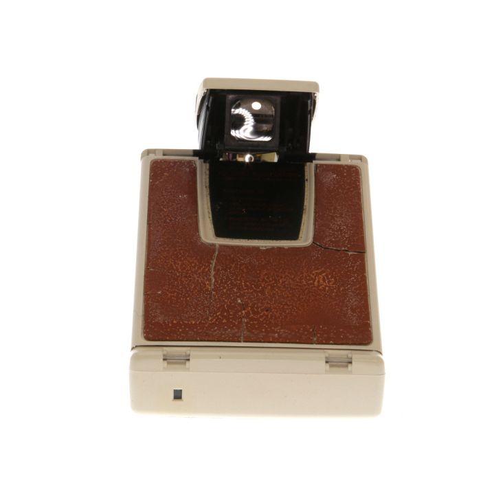 Polaroid SX-70 Land Camera Alpha, Ivory/Brown
