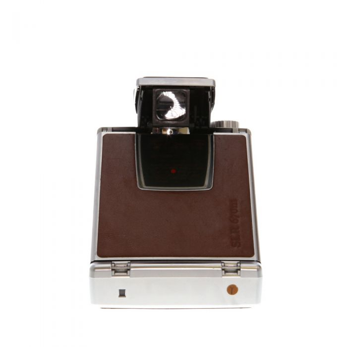 MiNT SLR 670m (SX-70 Type) Manual Instant Film Camera, Brown, with MiNT Time Machine