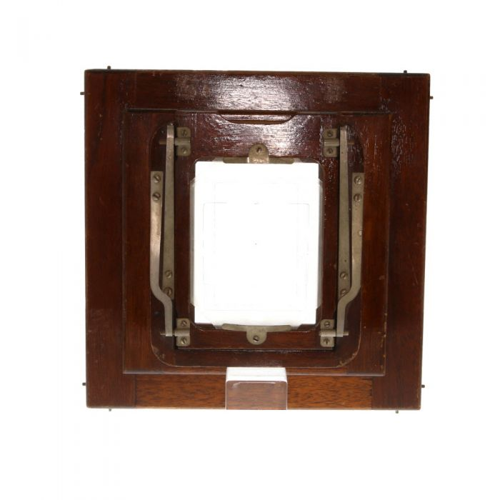 Deardorff Reducing (to 3x4 Image), Reversible (Horizontal/Vertical) Wooden Spring-Back for 4x5, or 5x7 Camera