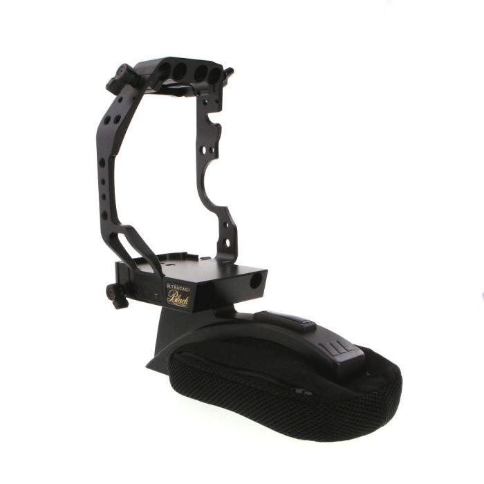 Redrock Micro ultraCage Black Series Field Cinema Rig for Canon EOS C100, C300 MK II, Black