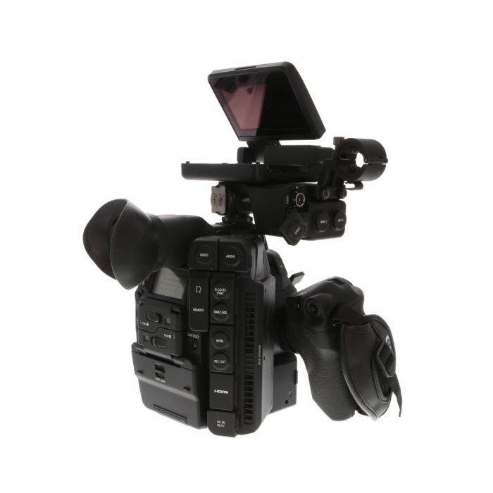 Canon Cinema EOS C300 Mark II 4K Camcorder Body (PL Lens  Mount) Body with Grip Unit, Monitor Unit, Anvil Shipping Case