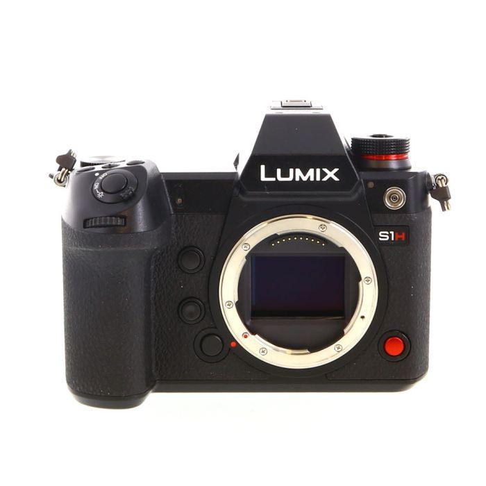 Panasonic Lumix DC-S1H Mirrorless Full Frame Digital Camera Body, Black {24.2 M/P}