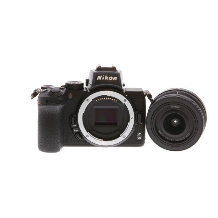 Nikon Z50 Mirrorless Digital Camera {20.9 M/P} with Z 16-50mm f/3.5-6.3 Lens {46}