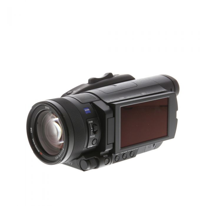 Sony FDR-AX700 4K Digital Video Camcorder, Black