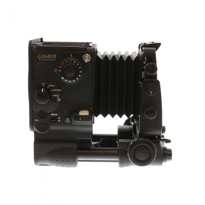 Fuji GX680III Pro Medium Format Camera Body (Perspective Control) Without Waistlevel Hood