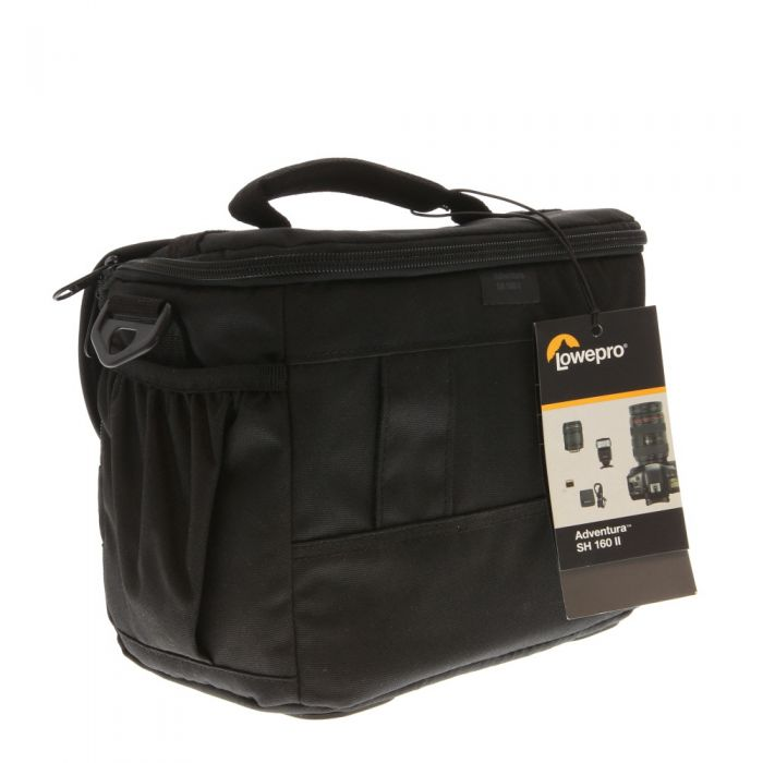 Lowepro LP36862 Adventura SH 160 II Shoulder Bag (Black) 9.3X6X7.1\