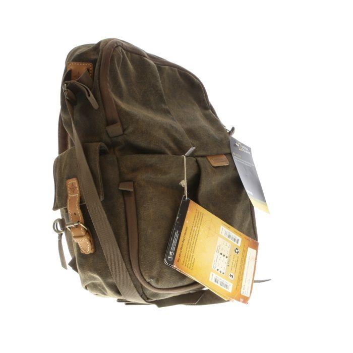 National Geographic NG A5270 Africa Series Medium Rucksack (Brown) 12.3X7.2X17.3\