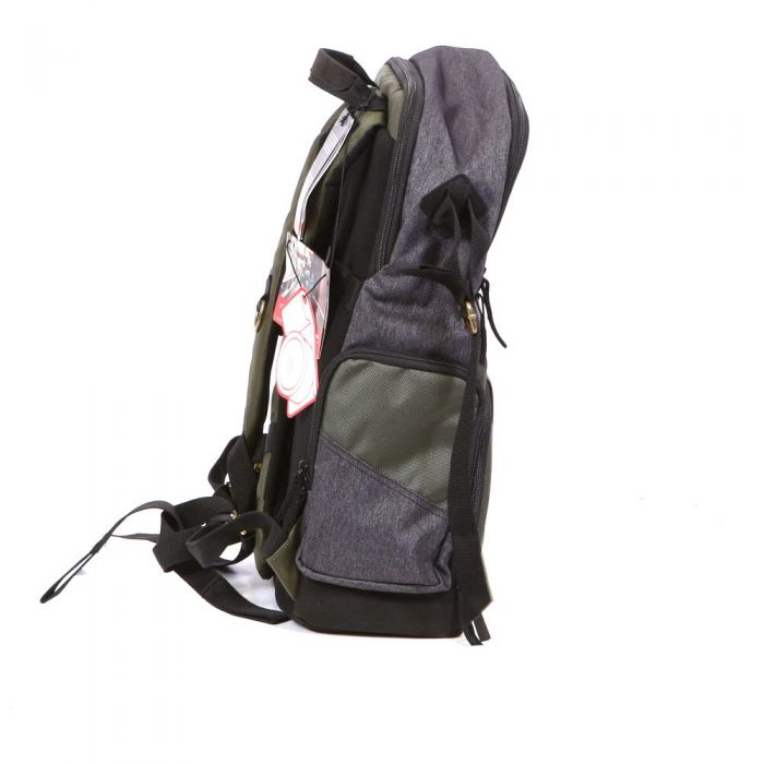Manfrotto Street Camera Laptop Backpack DSLR/CSC (Green/Gray)18X11X6\